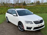 USED 2014 14 SKODA OCTAVIA 2.0 VRS TDI CR DSG 5d 181 BHP Full Skoda And Specialist History, Mint Car   Fully Documented Skoda And Specialist Service History, Recently Serviced, Recent Timing Belt +WP+ DSG Fluid Change, X2 Keys, Power Open And Close Tailgate, Heated Seats, X4 Recently Replaced Michelin Pilot Sport Tyres, Sat Nav, Bluetooth Handsfree And Media Streaming, DAB/Cd/Stereo/USB/Aux In Sockets, VRS Sports Seats, Cruise Control, F1 Style Paddle Gear Shifters, Voice Activation, Red Brake Calipers, Full Mat Set,Climate Aircon, Carbon Effect Interior Trims, Front And Rear Armrests, VRS - Spor