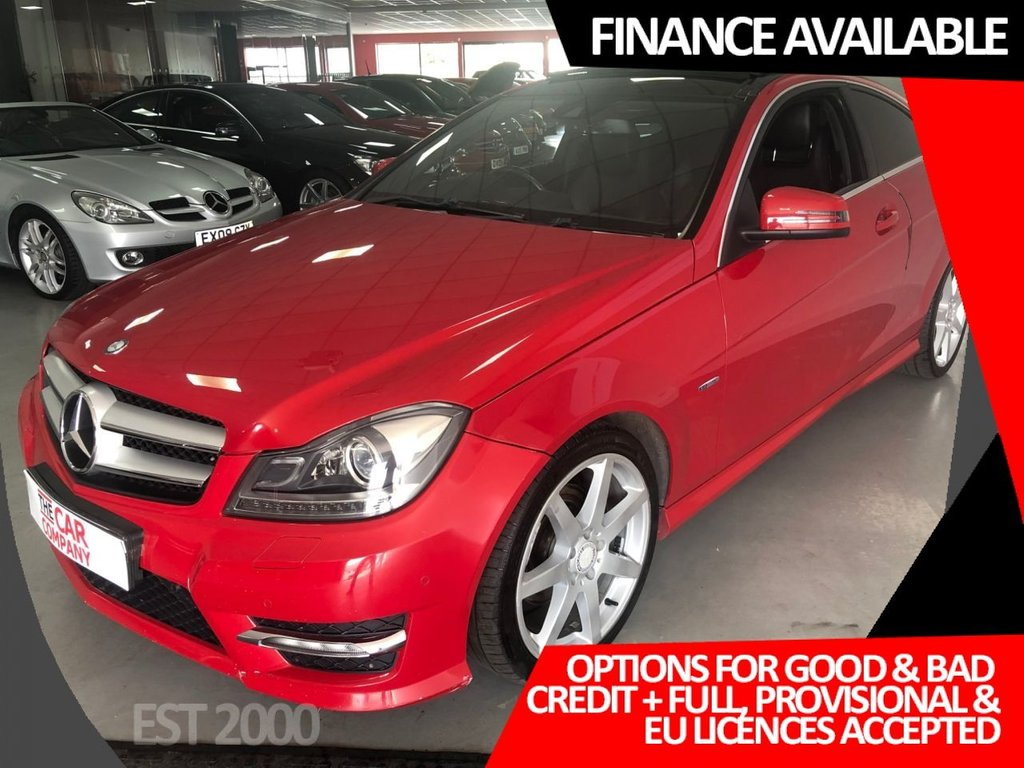 USED 2012 54 MERCEDES-BENZ C-CLASS 2.1 C250 CDI BLUEEFFICIENCY AMG SPORT ED125 2d 204 BHP * PANORAMIC SUNROOF * SAT NAV * HEATED LEATHER *