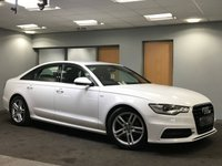 USED 2013 63 AUDI A6 2.0 TDI S LINE 4d 175 BHP Well maintained