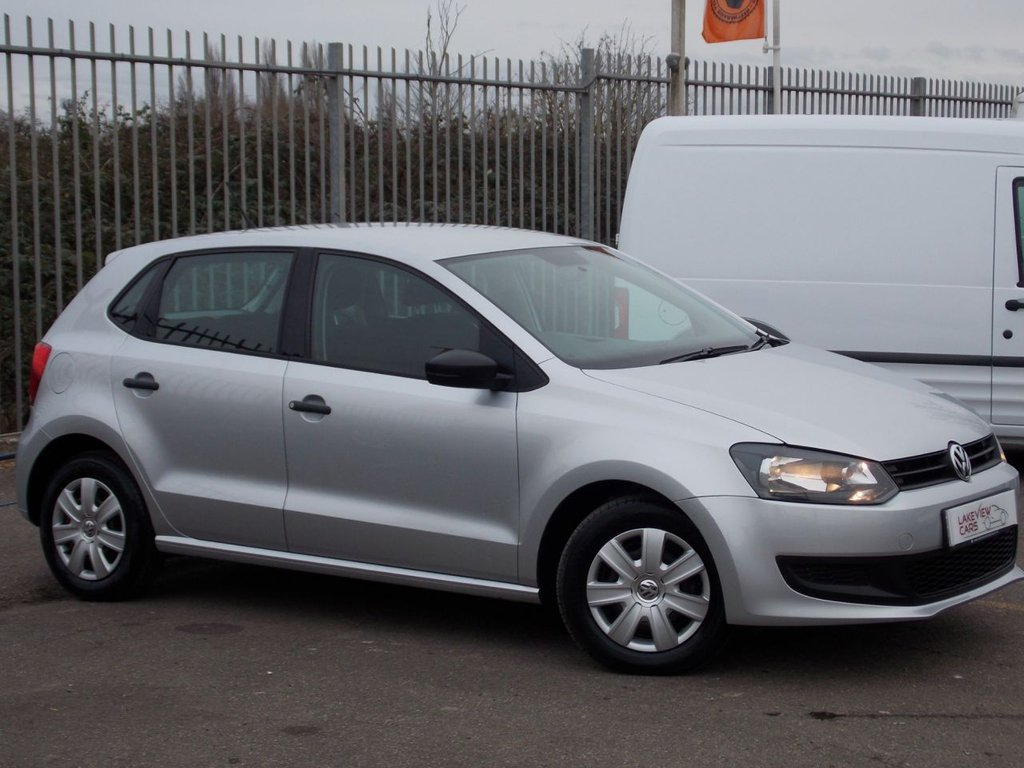 USED 2011 11 VOLKSWAGEN POLO 1.2 S A/C 5d 70 BHP