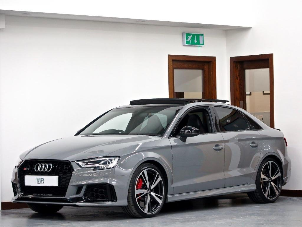 USED 2017 67 AUDI RS3 2.5 TFSI S Tronic quattro (s/s) 4dr PAN ROOF + KEYLESS + SS SEATS