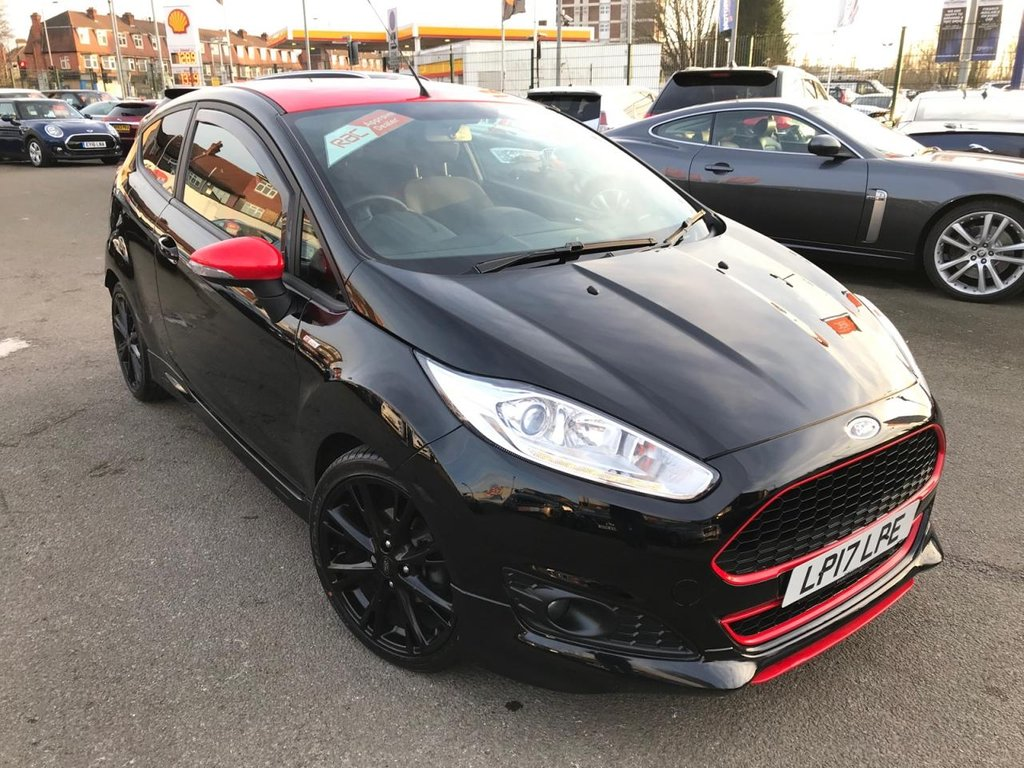 USED 2017 17 FORD FIESTA 1.0 ST-LINE BLACK EDITION 3d 139 BHP RAC APPROVED ONLY 20000 MILES!