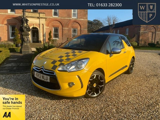 2012 12 CITROEN DS3 1.6 THP DSPORT PLUS 3d 156 BHP