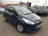 USED 2013 13 FORD B-MAX 1.0 ZETEC 5d 100 BHP RAC APPROVED!!!