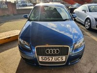USED 2007 57 AUDI A3 1.9 TDI SPECIAL EDITION 3d