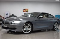 USED 2012 12 BMW 6 SERIES 3.0L 640D SE 2d AUTO 309 BHP HUGE SPEC+GREAT SERVICES!, 309BHP, 2 KEYS, STUNNING COLOUR!