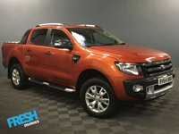 USED 2014 64 FORD RANGER 3.2 WILDTRAK 4X4 DCB TDCI AUTO