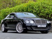USED 2009 09 BENTLEY CONTINENTAL 6.0 W12 GT Speed 2dr Full Bentley service history