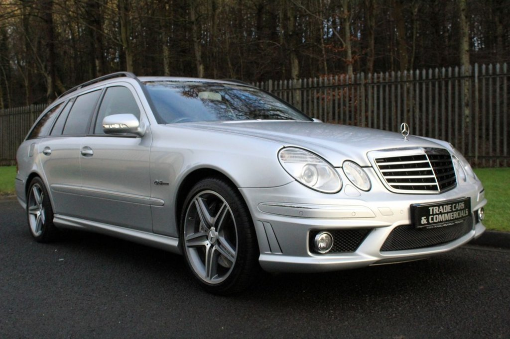 USED 2008 S MERCEDES-BENZ E-CLASS 6.2 E63 AMG 5d 507 BHP A LOVELY HIGH SPEC CAR WHICH IS PACKING A HUGE 507BHP!!!