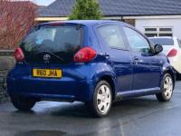 USED 2007 57 TOYOTA AYGO 1.0 VVT-i Blue Blue 5dr * Great value for money *