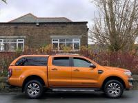 USED 2017 17 FORD RANGER 3.2 TDCi Wildtrak Double Cab Pickup Auto 4WD 4dr + VAT /  SAT NAV / LEATHER
