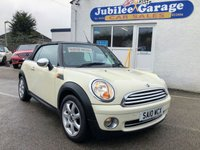 2010 MINI CONVERTIBLE 1.6 ONE 2d 98 BHP SOLD