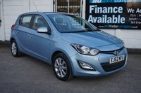 USED 2012 62 HYUNDAI I20 1.2 ACTIVE 5d 84 BHP 5 Service Stamps, Bluetooth, Rear Parking Aid, USB