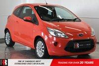 2009 FORD KA 1.2 ZETEC 3d 69 BHP £2995.00