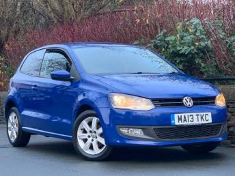2013 VOLKSWAGEN POLO 1.2 Match Edition 3dr £5295.00