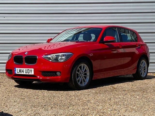 USED 2014 14 BMW 1 SERIES 1.6 116I SE 5d 135 BHP Heated Dakota Leather