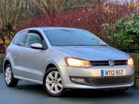 USED 2012 12 VOLKSWAGEN POLO 1.2 Match 3dr REFLEX SILVER / STUNNING