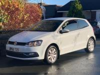 USED 2015 65 VOLKSWAGEN POLO 1.0 TSI BlueMotion Tech SE (s/s) 3dr Full Volkswagn Service history