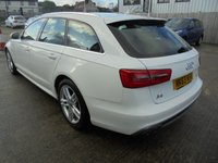 USED 2013 63 AUDI A6 2.0 AVANT TDI S LINE 5d 175 BHP Excellent Condition, Only One Owner, FSH, No Deposit, No Fee Finance Available