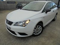 USED 2016 66 SEAT IBIZA 1.0 SOL 3d 74 BHP Only One Owner, Excellent Condition, FSH, Low Rate Finance Available