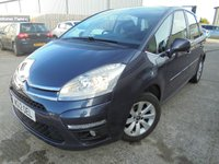 USED 2012 12 CITROEN C4 PICASSO 1.6 VTR PLUS HDI 5STR 5d 110 BHP Excellent Sized Family Car, No Deposit Necessary, Part Ex Welcomed