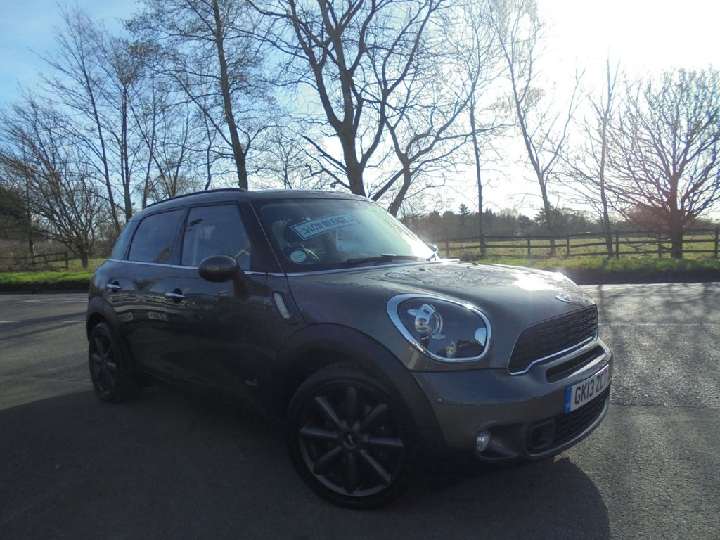 USED 2013 13 MINI COUNTRYMAN 1.6 COOPER S ALL4 5d 184 BHP