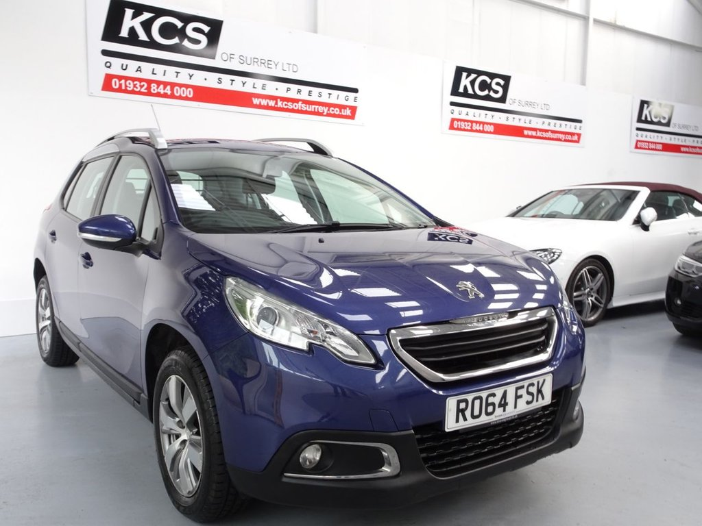 USED 2014 64 PEUGEOT 2008 1.4 HDI ACTIVE 5d 68 BHP BLUETOOTH / DAB