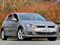 USED 2014 64 VOLKSWAGEN GOLF 2.0 TDI BlueMotion Tech Match (s/s) 5dr LOW MILEAGE AT GREAT PRICE