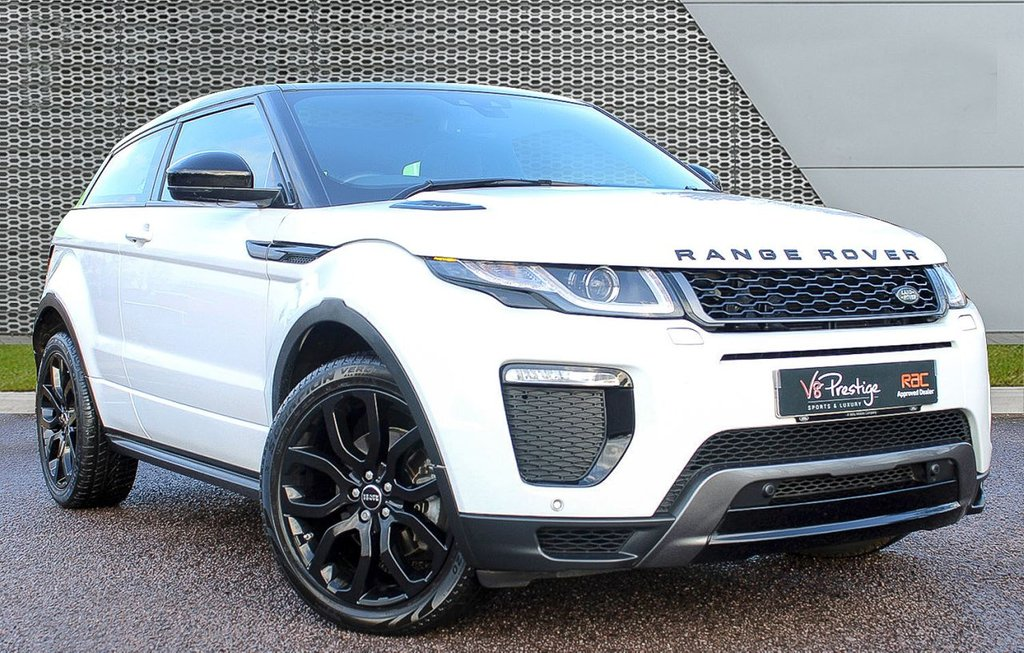 USED 2017 66 LAND ROVER RANGE ROVER EVOQUE 2.0 TD4 HSE DYNAMIC 3d 177 BHP **COUPE/PAN ROOF/BLACK PACK**