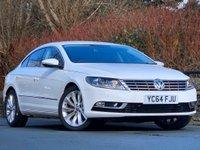 USED 2015 64 VOLKSWAGEN CC 2.0 TDI BlueMotion Tech GT 4dr SAT NAV/ FULL VW S/HISTORY