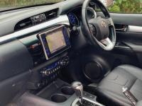 USED 2017 67 TOYOTA HI-LUX 2.4 D-4D Invincible X Double Cab Pickup Auto 4WD EU6 4dr (TSS, 3.5t) + VAT / DECUMA GREY / SAT NAV