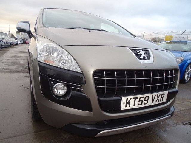 USED 2010 59 PEUGEOT 3008 1.6 EXCLUSIVE HDI 5d 110 BHP GREAT CONDITION