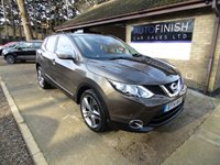 USED 2014 14 NISSAN QASHQAI 1.5 DCI ACENTA PREMIUM 5d 108 BHP * FULL SERVICE HISTORY * ZERO ROAD TAX * SAT-NAV * 2 KEYS * £0 DEPOSIT FINANCE AVAILABLE *