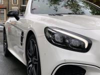 USED 2018 67 MERCEDES-BENZ SL Class 3.0 SL400 V6 AMG Line Roadster G-Tronic+ (s/s) 2dr Diamond White / Red Leather