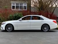 USED 2019 19 MERCEDES-BENZ S CLASS 3.0 S450L EQ Boost AMG Line (Premium) G-Tronic+ (s/s) 4dr Diamond White / Pan Roof