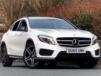 USED 2016 65 MERCEDES-BENZ GLA-CLASS 2.1 GLA220 CDI AMG Line (Premium) 4MATIC 5dr CALCITE WHITE / 170BHP / MBSH