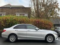 USED 2017 66 MERCEDES-BENZ C-CLASS 2.0 C200 SE (s/s) 4dr IRIDIUM SILVER / FMBSH