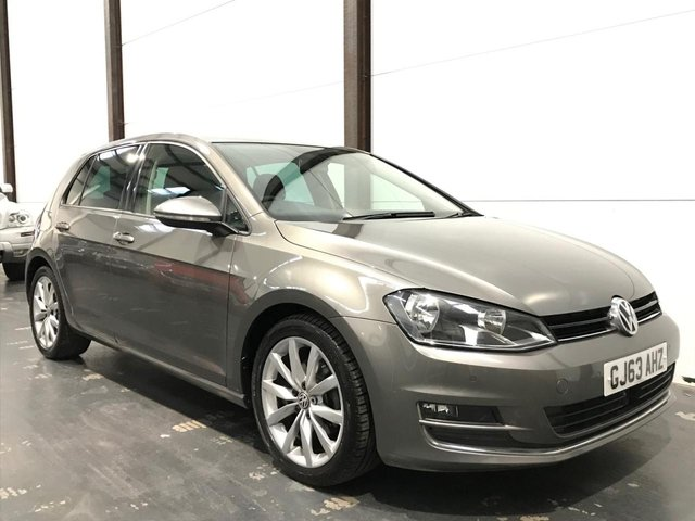 2013 63 VOLKSWAGEN GOLF 2.0 GT TDI BLUEMOTION TECHNOLOGY DSG 5d 148 BHP