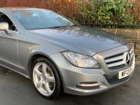 USED 2013 13 MERCEDES-BENZ CLS-CLASS  2.1 CLS250 BlueEFFICIENCY Coupe 4dr Diesel 7G-Tronic Plus (s/s) (135 g/km, 201 bhp) Heated Seat's / Sat nav