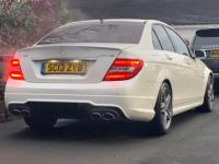 USED 2013 13 MERCEDES-BENZ C-CLASS 6.3 C63 AMG MCT 4dr SAT NAV | SUNROOF | 360 CAMERA