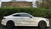 USED 2017 66 MERCEDES-BENZ C-CLASS 4.0 C63 AMG Speedshift MCT (s/s) 2dr DIAMOND WHITE / FMSH
