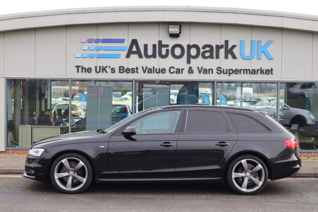 USED 2012 62 AUDI A4 2.0 AVANT TDI BLACK EDITION 5d 141 BHP LOW DEPOSIT OR NO DEPOSIT FINANCE AVAILABLE