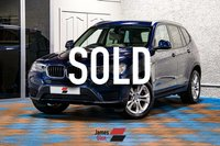 2017 BMW X3 2.0 XDRIVE20D SE 5d 188 BHP £20985.00
