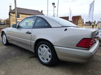 USED 2003 P MERCEDES-BENZ SL 3.2 SL320 2d 228 BHP RARE EXAMPLE WITH FACTORY OPTIONS