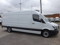 USED 2018 18 MERCEDES-BENZ SPRINTER 2.1 314CDI LWB HI ROOF 140 BHP [EURO 6]