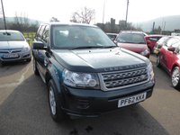2013 LAND ROVER FREELANDER 2.2 TD4 GS 5d 150 BHP £9695.00