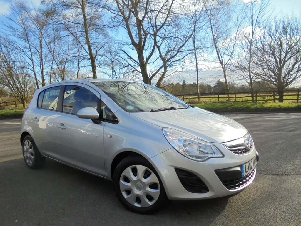 USED 2012 12 VAUXHALL CORSA 1.2 EXCLUSIV A/C 5d 83 BHP