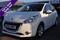 2012 PEUGEOT 208 1.2 ACTIVE 5d 82 BHP £5495.00