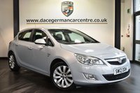 """USED 2012 12 VAUXHALL ASTRA 1.6 ELITE 5DR 113 BHP Finished in a stunning white styled with 17"""" alloys. Upon opening the drivers door you are presented with full black leather interior, full service history, heated sport seats, cruise control, multi functional steering wheel, air conditioning, auxiliary port, parking sensors, ULEZ EXEMPT"""