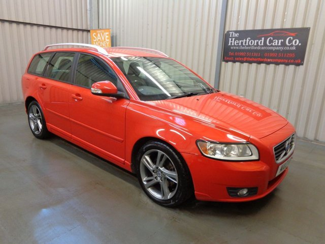 2012 12 VOLVO V50 1.6 DRIVE SE EDITION S/S 5d 113 BHP